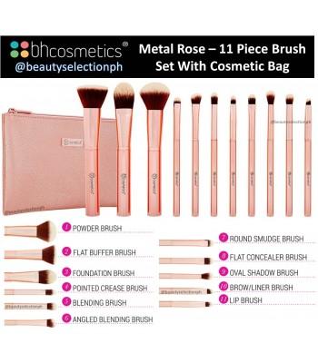 798afb412add BH Cosmetics Metal Rose Set