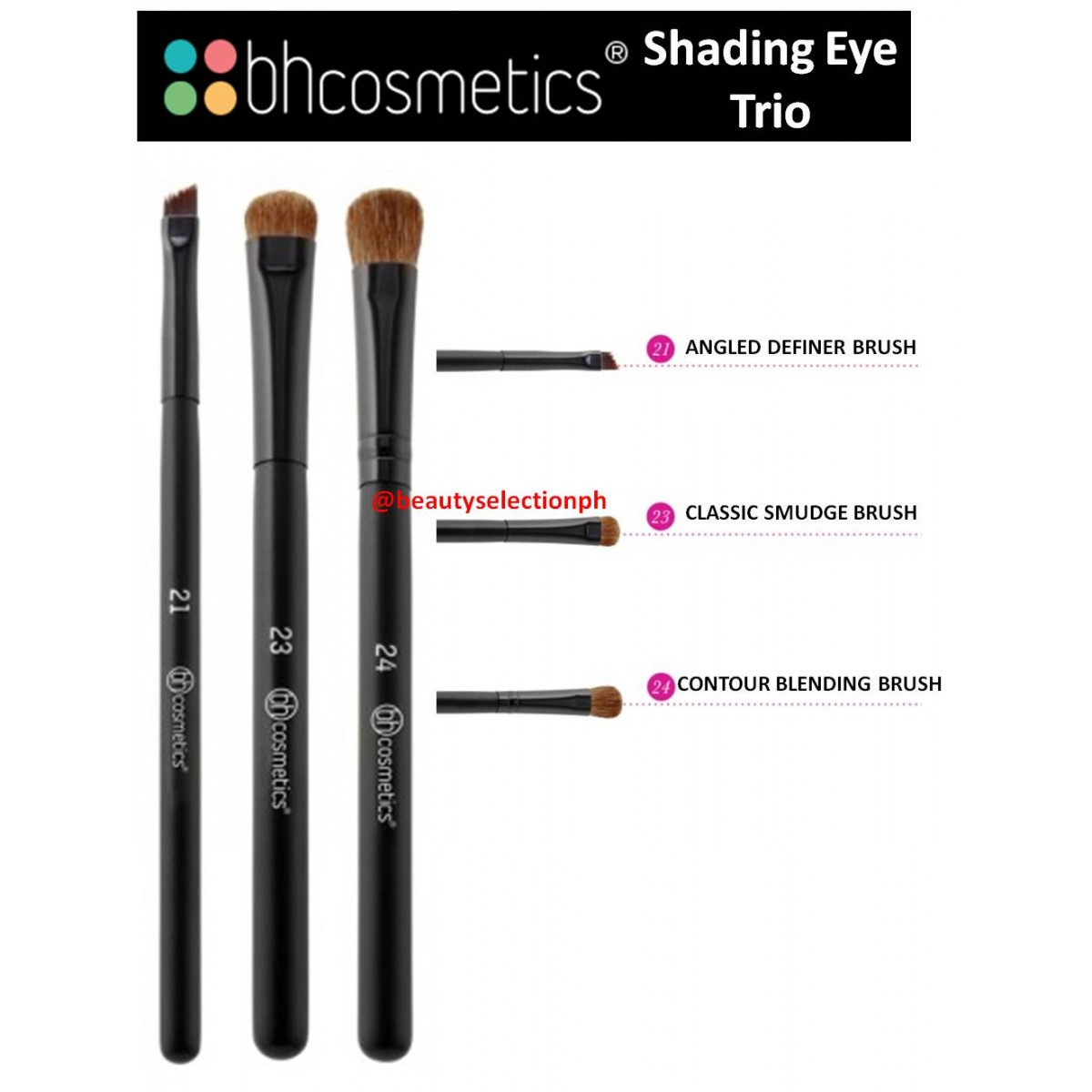 Bh Cosmetics Shading Eye Trio