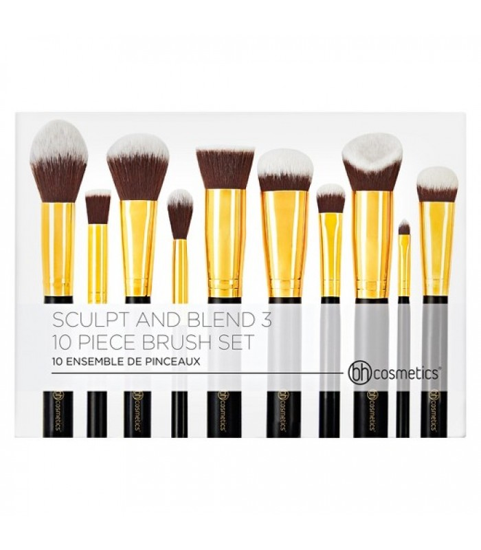 BH Cosmetics Sculpt and Blend 3 - 10 Piece Brush Set