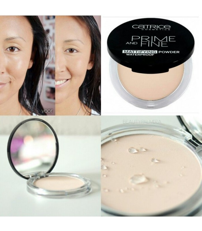 Catrice Prime and Fine Waterproof Mattifying Powder