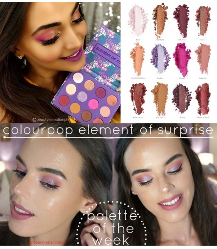 Colourpop Element of Surprise Eyeshadow Palette