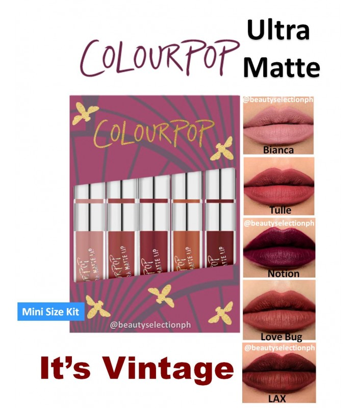 Colourpop IT'S VINTAGE Mini Size Kit