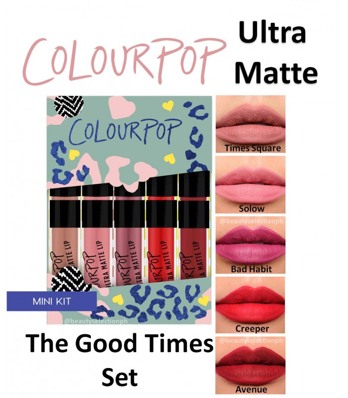 Colourpop THE GOOD TIMES Mini Size Kit