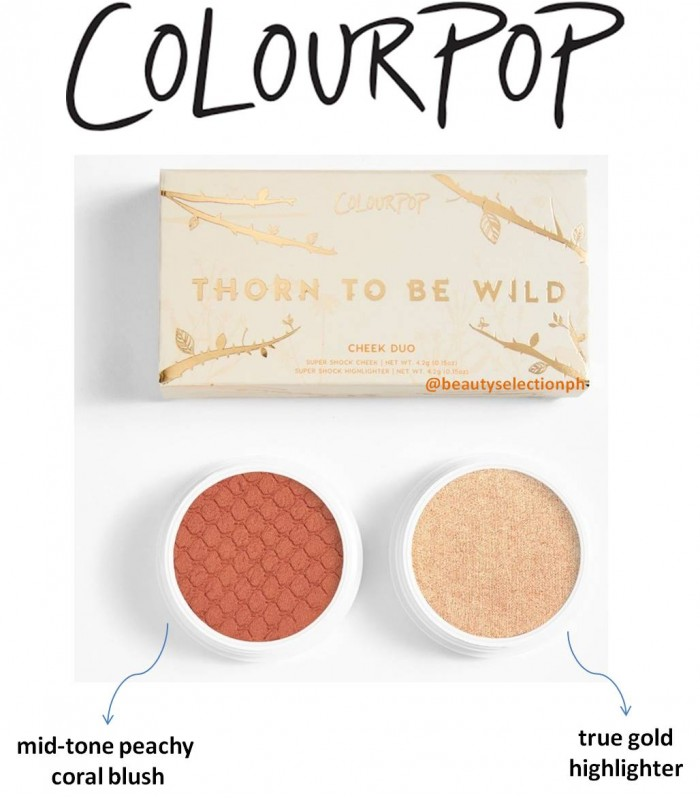 Colourpop Thorn to Be Wild Super Shock Face Duo