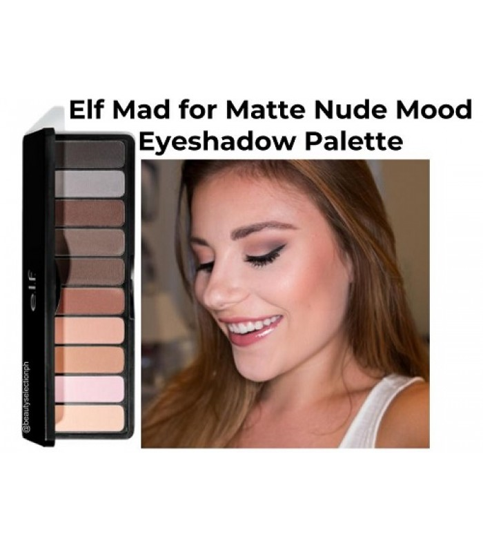 Elf Mad for Matte Nude Mood Eyeshadow Palette
