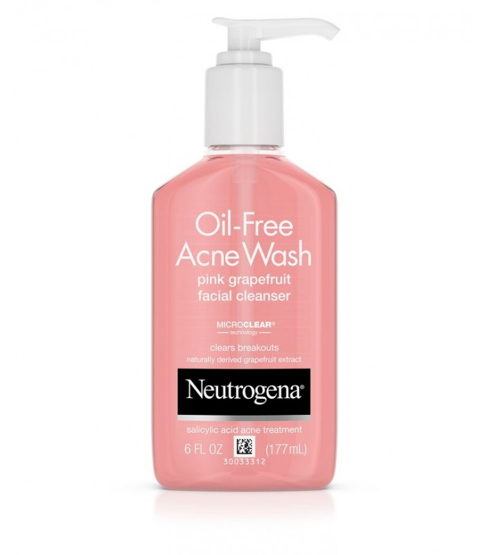Neutrogena Oil-Free Pink Grapefruit Facial Cleanser