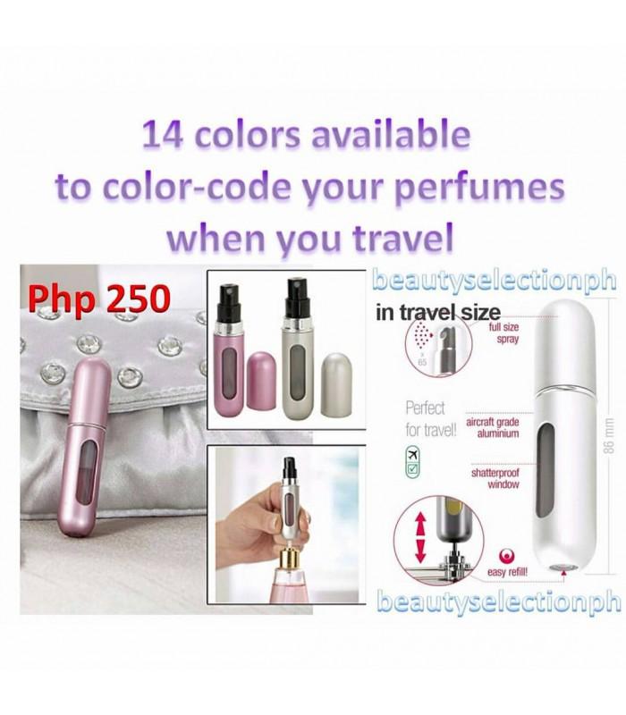 Refillable Travel Perfume Atomizer