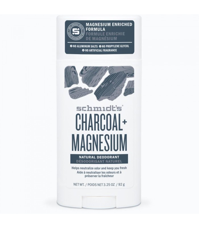 Schmidt's Charcoal and Magnesium Natural Deodorant