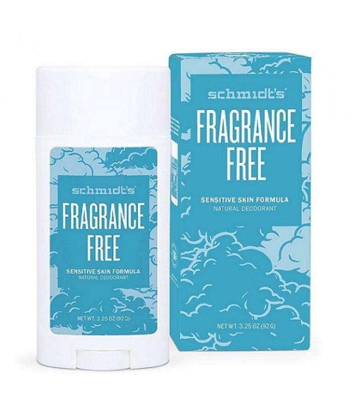Schmidt's Fragrance-Free Natural Deodorant