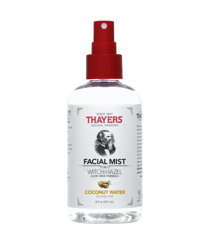 Thayers Alcohol-Free COCONUT WATER Witch Hazel Toner Facial Mist