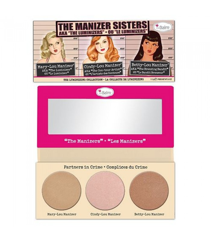 "theBalm The Manizer Sisters AKA the ""Luminizers"" Palette"