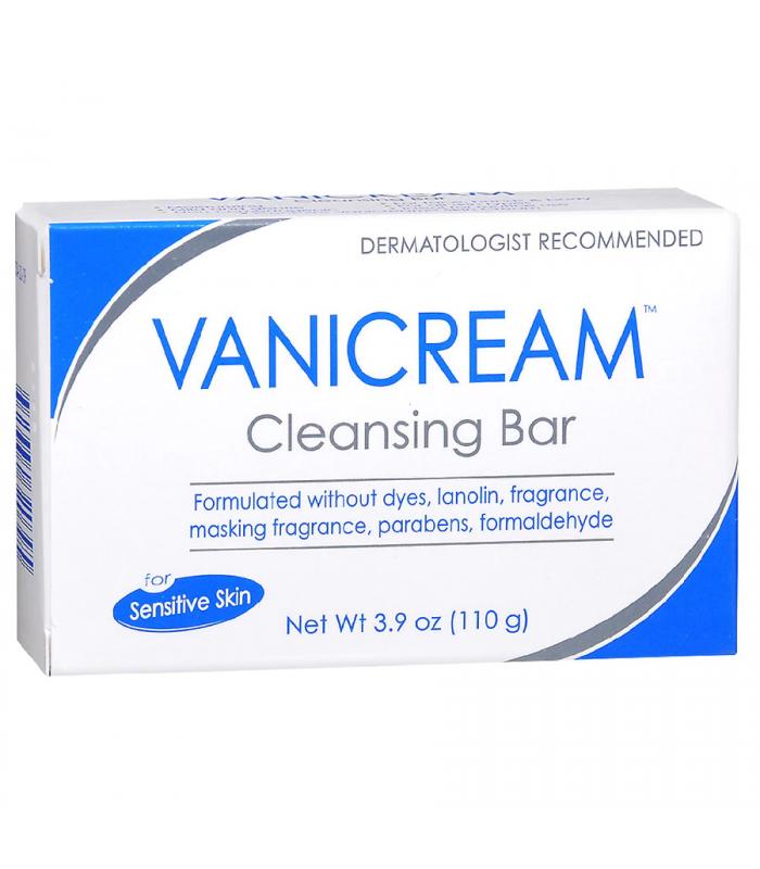 Vanicream Cleansing Bar Soap for Sensitive Skin